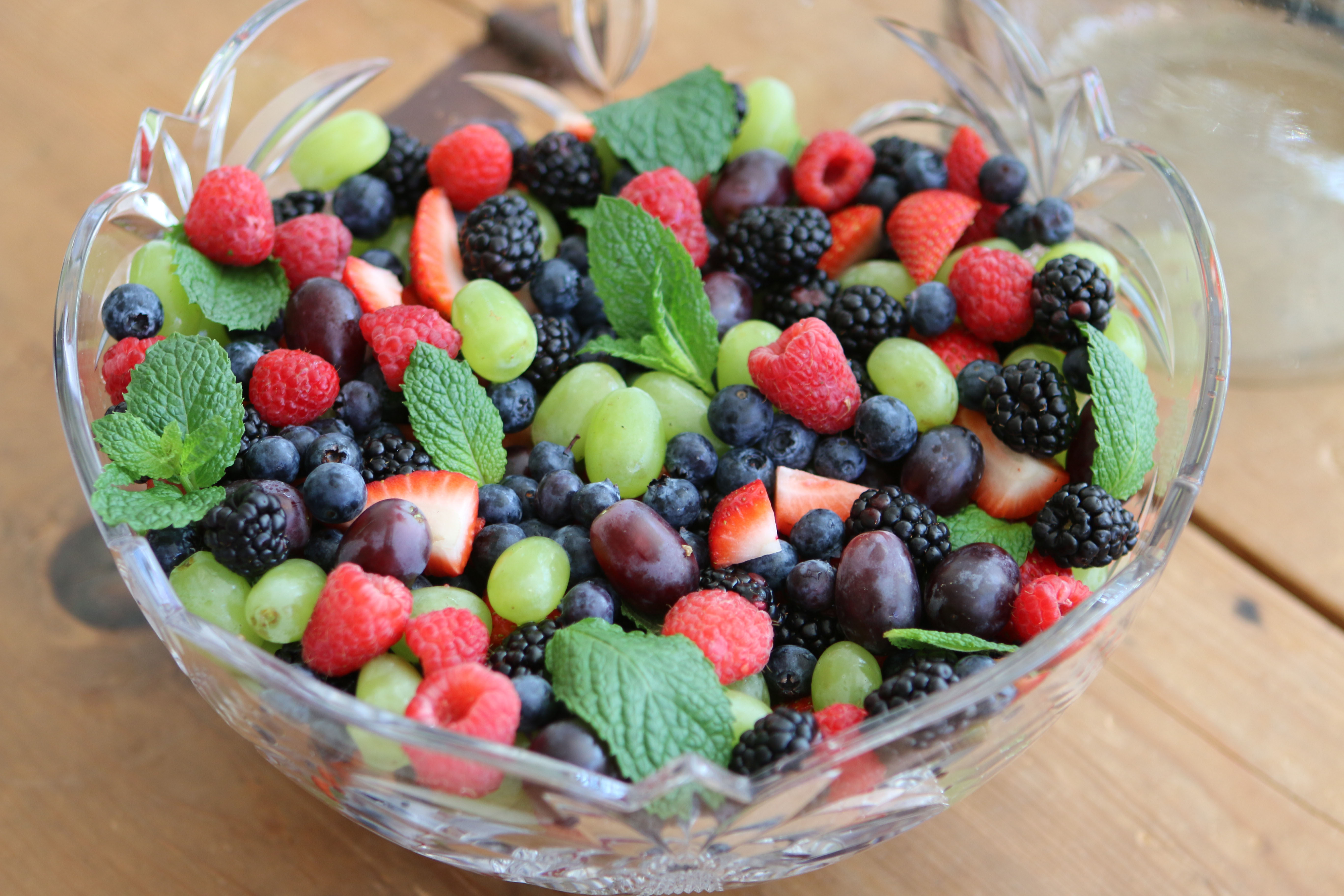 Berry and Grape Salad